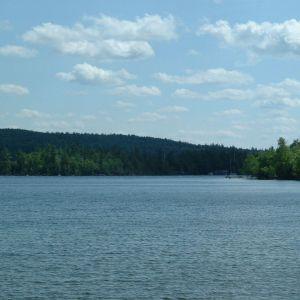 Vue du lac Nicolet