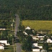 Vue aérienne des Sts-Martyrs-Canadiens
