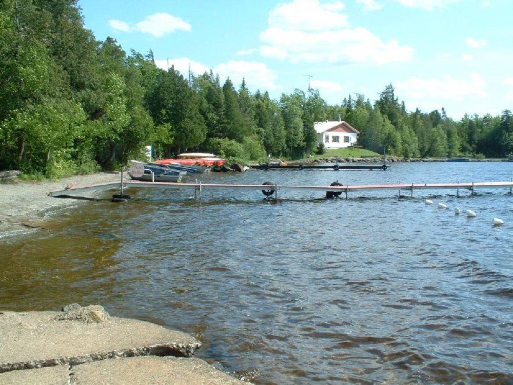 Bordure du lac Nicolet